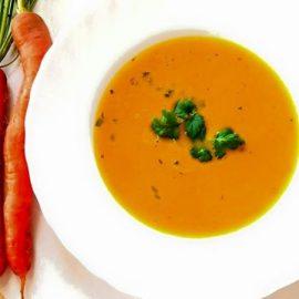 Крем-супа от моркови