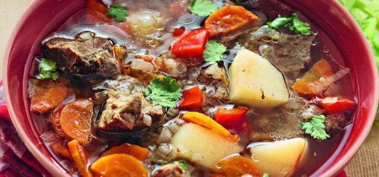 Супа от агнешко месо