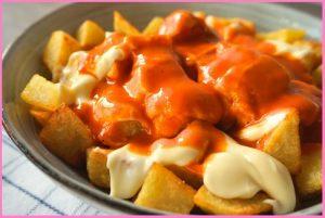 Картофи с пикантен сос
