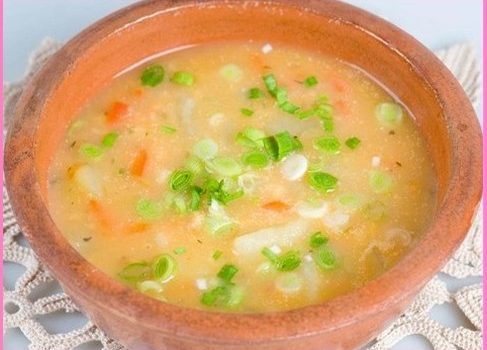 Лятна градинарска супа